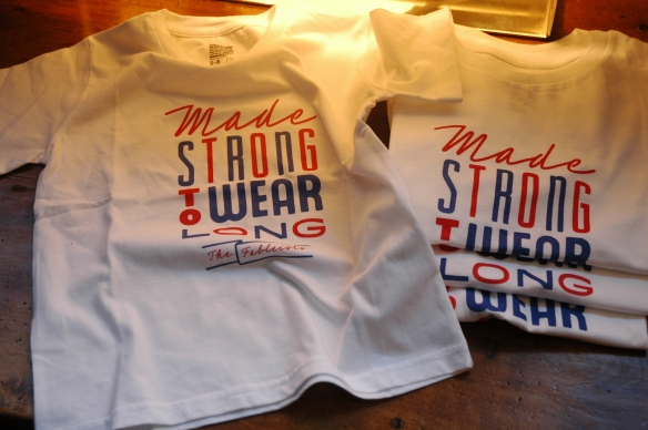 'Made Strong to Wear Long' by Crispin Finn for www.TheFableists.com