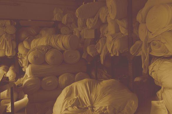 Rolls of 100% Organic Cotton Jersey
