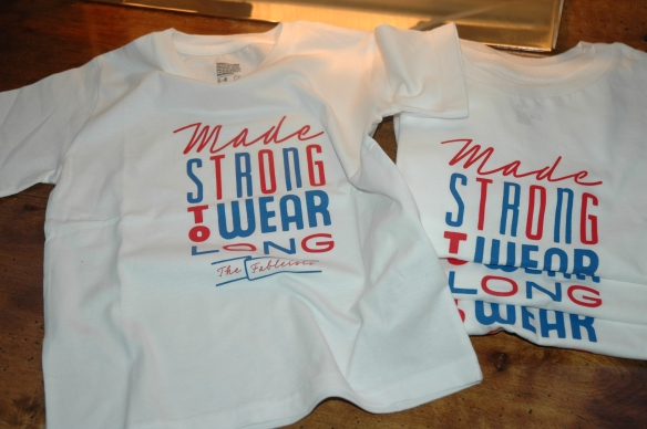 Made Strong to Last Long T-Shirt by Crispin Finn