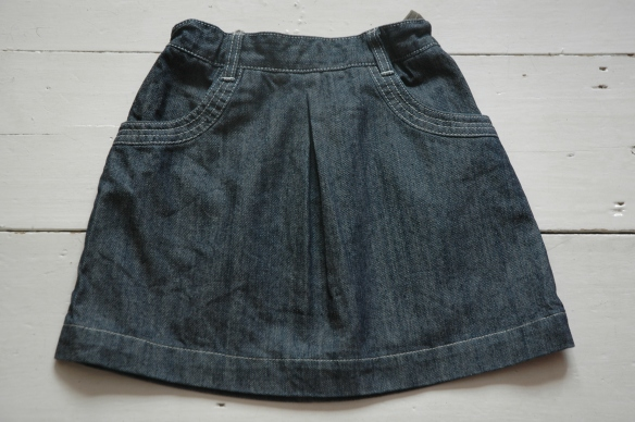 Petit Bateau Denim Skirt Bought on eBay
