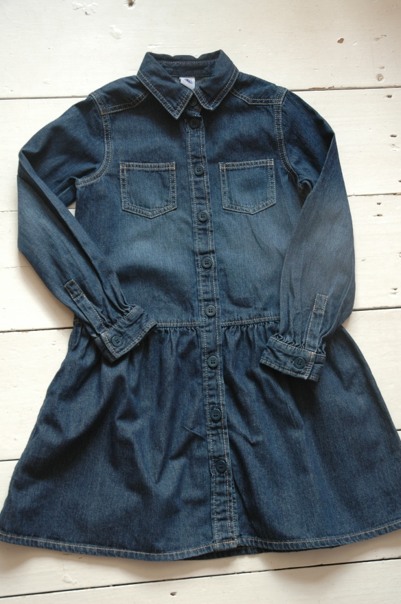 Petit Bateau Denim Dress Bought on eBay