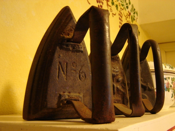old fashioned irons