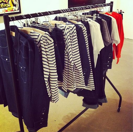 clothing rail