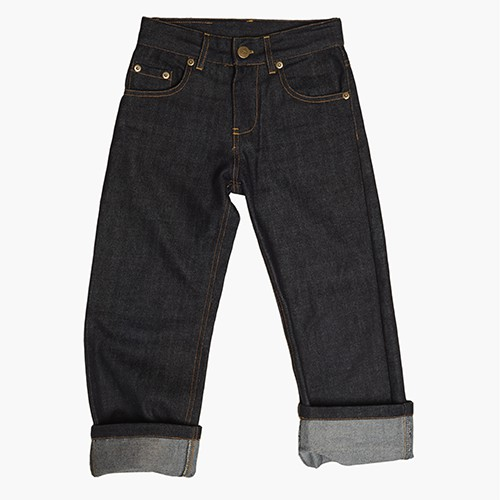 Classic Straight Cut Denim Jeans