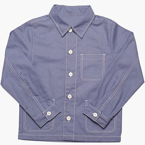 Chore coat in blue