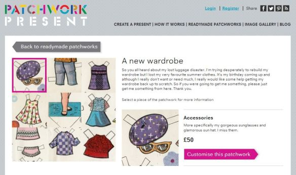 Use Patchwork Present to fund a new wardrobe from The Fableists!