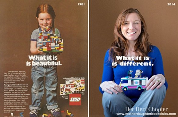 lego then and now