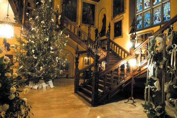 Blickling hall - Christmas interior. please credit National Trust Images