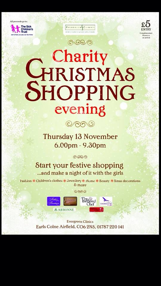 evergreen shopping evening